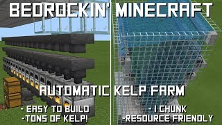 Ultra fast kelp farm with built in super smelter! 100% AFK