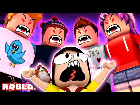 Find the Source of EVIL!!! - Roblox Escape EVIL Youtubers Obby - DOLLASTIC PLAYS!