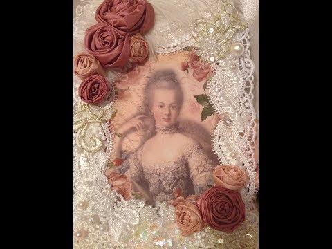 Shabby Marie Antoinette Wall Hanging Tresors de Luxe DT