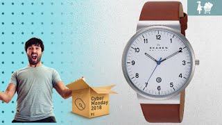 Save Big On Great Skagen Men Watches / Now On Cyber Monday 2018! | Cyber Monday Guide