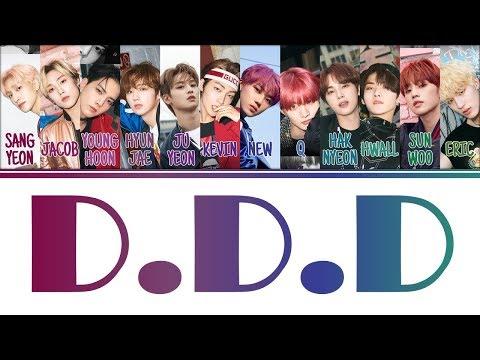 [Color Coded Lyrics] THE BOYZ(더보이즈) - D.D.D (Han/Rom/Eng)