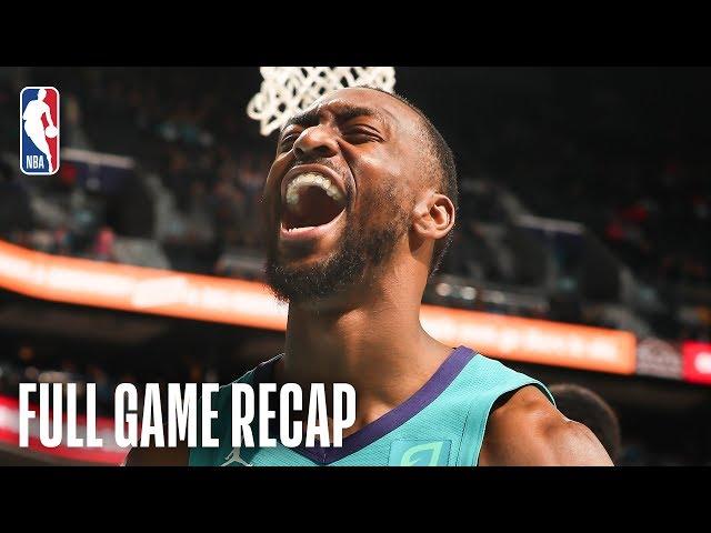 WIZARDS vs HORNETS   Bradley Beal Drops 46, Kemba Walker Leads CHA   February 22, 2019