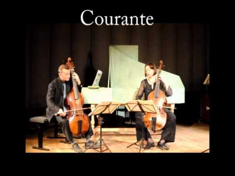 Marin Marais Courante Suite en ré mineur deux violes et basse