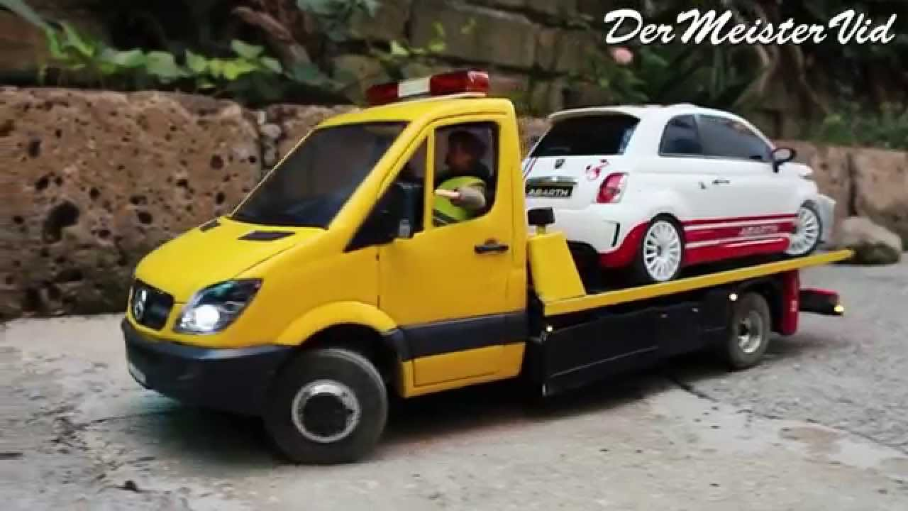 Rc mercedes benz sprinter autotransporter by wajha1983 for Rc mercedes benz