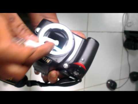 Easy clean DSLR CMOS sensor, Extreme methode