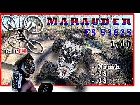 FS Racing MARAUDER  53625  BRUSHLESS 1/10 REVIEW TEST DEMO / E X C E L L E N T !!!