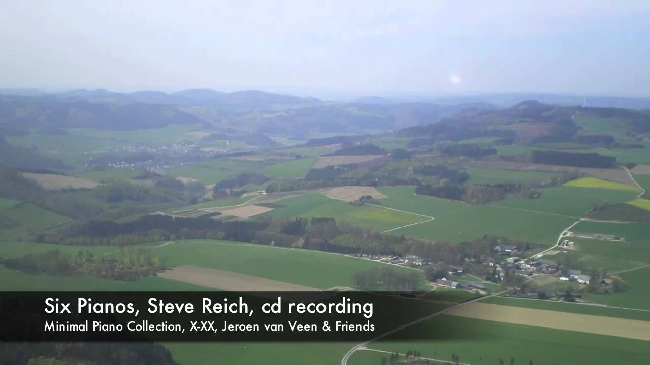 Six Pianos, Steve Reich