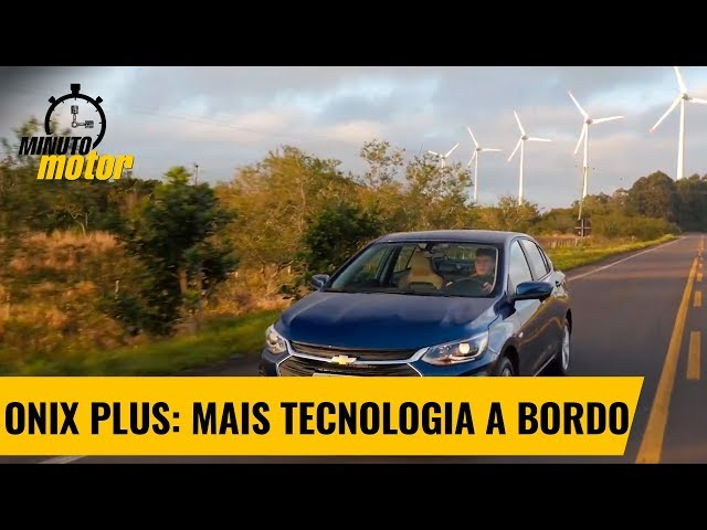 Novo Onix Plus: mais tecnologia a bordo | Minuto Motor