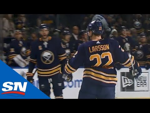 Johan Larsson Finishes Off A Beautiful Feed From Evan Rodrigues Shorthanded