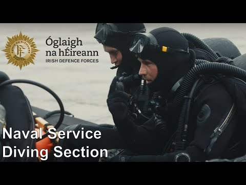Irish Naval Service Diving Section
