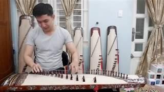 Đàn Tranh Koto  17 dây Lý Đất Giồng do Tài Linh đàn