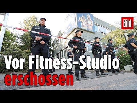 Mann (26) vor Hamburger Fitness-Studio erschossen
