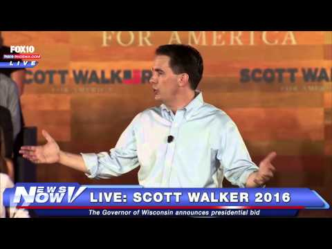 FNN: Scott Walker Announces 2016 Presidential Bid