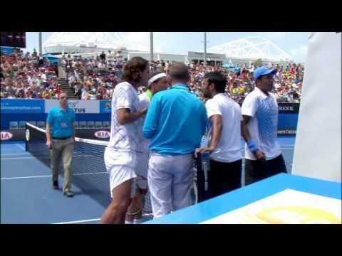 Feliciano Lopez and Juan Monaco Smackdown