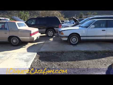 Auto Parts & Project Cars For Sale Car Lot Walkaround