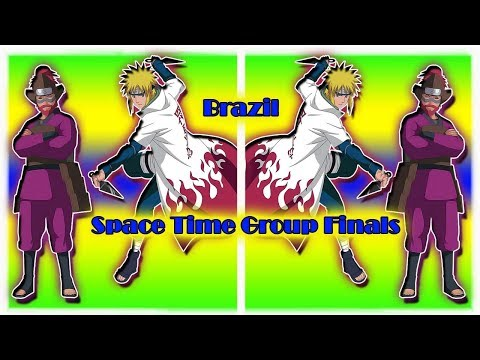 Naruto Online 4.0 Space Time Brazil Group Finals Roshi Be Dunking