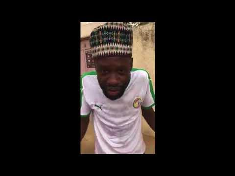 Regardez Tapha Touré aprés la victoire des lions