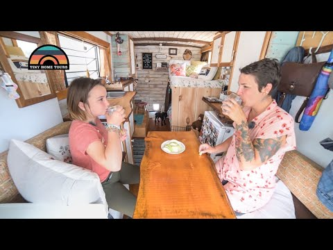 Single Mom Self Converts Fire Truck Into Tiny Home To Travel With Her Daughter - RENOVATION UPDATE