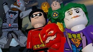 LEGO Batman 3: Beyond Gotham (Vita / 3DS) - 100% Guide Chapter 8 - Brainiac in Gotham