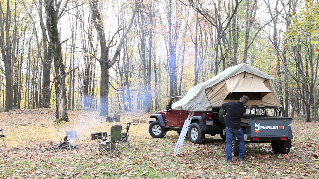 & Setting up an ARB Simpson III Rooftop Tent (ARB3101 RTT) - YouTube