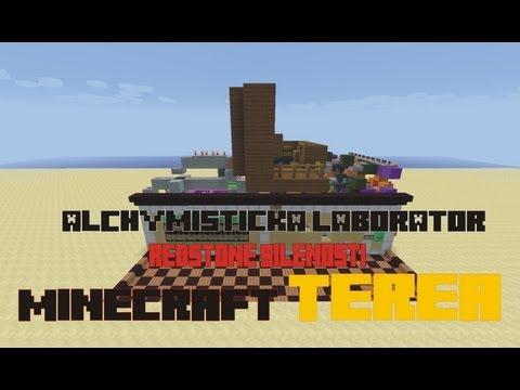 Minecraft - Alchymistická Laboratoř - Mapa Ke Stažení