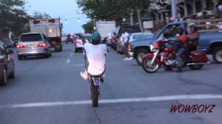 Wild Out Wheelie Boyz - Hottest In The City Pt 2 #BikeLife Baltimore