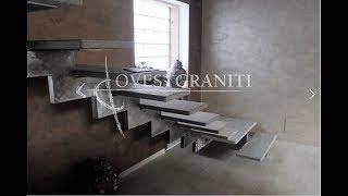 Realizzazione scale in pietra di luserna.