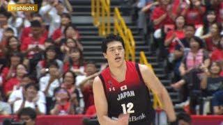 【ハイライト】バスケ男子日本代表・国際試合 日本 vs ドイツ(2019.8.24)