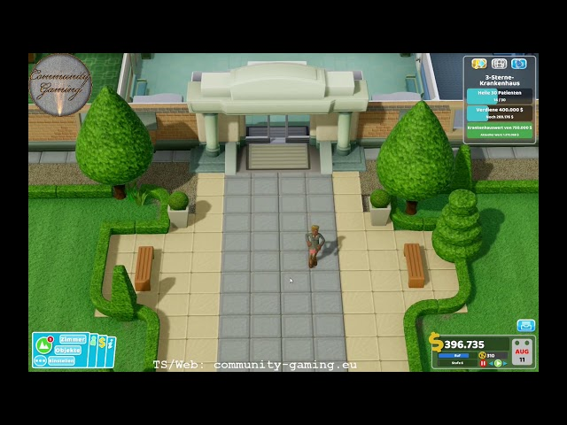 Jetzt schon 2-Sterne | Folge #003 | Let's Play Two Point Hospital