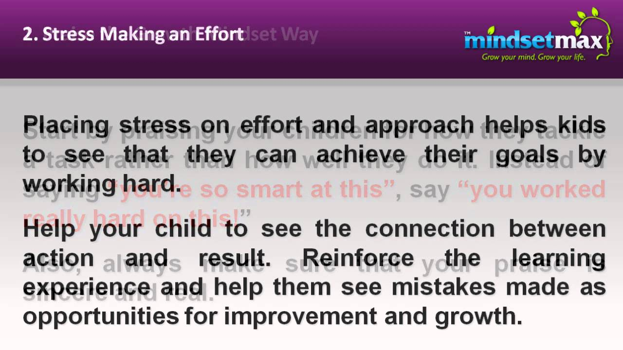 Growth Mindset Activities For Kids Youtube