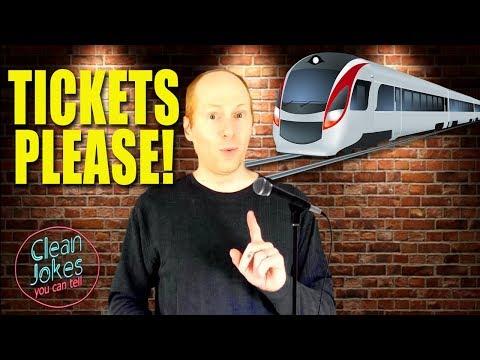 Engineers & Accountants Take a Train: Clean Jokes