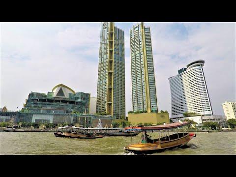 Bangkok, Thailand. River Tour. Boat Trip on the Chao Phraya River