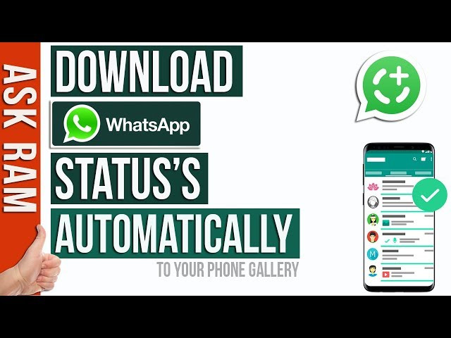 How To Download WhatsApp Status Photos and Videos |Easy Method| WhatsApp Trick