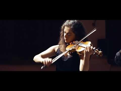 Liana Gourdjia, Tcha Limberger, violins, Renaud Dardenne, guitar, Vilmos Csikos, double bass