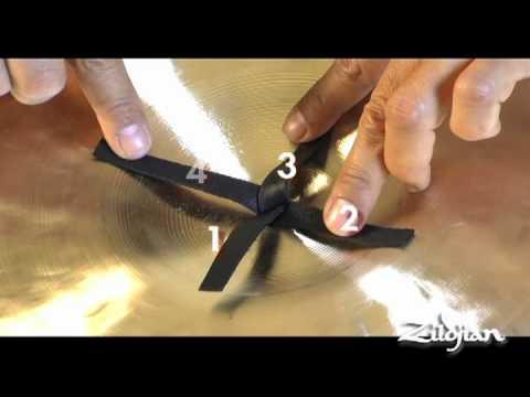 Zildjian Score Magazine -- How To Tie A Cymbal Knot