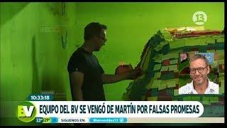 ¡Equipo le hizo broma a Martín por sus falsas promesas!   Bienvenidos