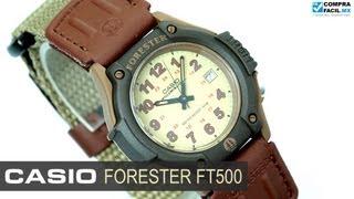 reloj casio forester ft500 www comprafacil mx