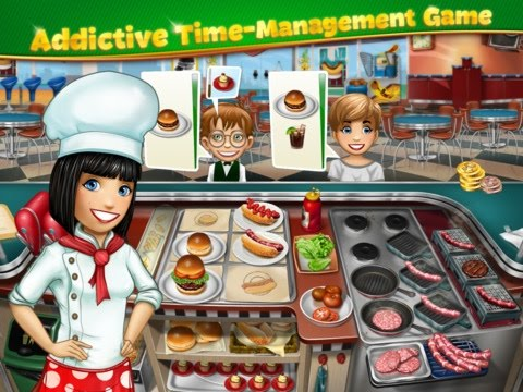 Cooking Fever – Gameplay Review / Walkthrough / Free game for iOS: iPhone / iPad