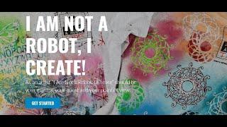 ICH BIN NICHT EIN ROBOTER... ICH ERSTELLEN! - Mitglied Der Bewegung zu werden - Erstellen Sie auf Ihrem T-Shirt