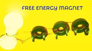 New Science Invention 2018_Make Free Energy Generator Using Magnets Light Bulb Easy Ideas Projects