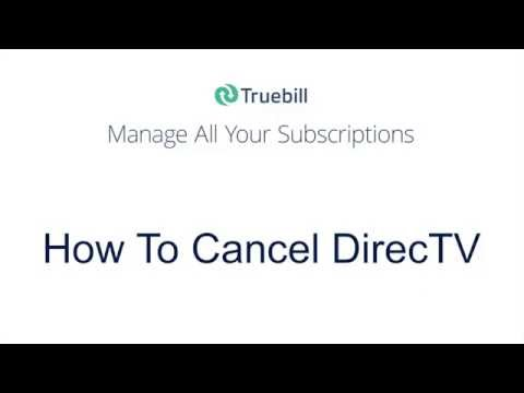 How To Cancel Directv 2016 Youtube
