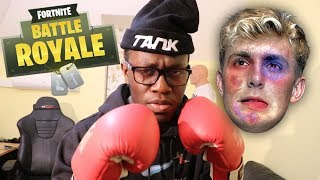 JAKE PAUL FIGHT TRAINING (Fortnite: Battle Royale)