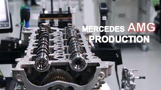 Car Factory Mercedes AMG ENGINE Tech features Production line