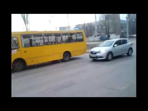 Поездака на автобусе БОГДАН-А093.1 Г. Саратов.