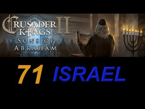 Crusader Kings 2 Israel 71 - Basileus Menashe, Greek Jewish