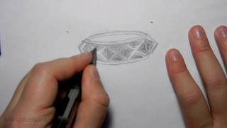 "How to Draw a ""Studded"" Bracelet"