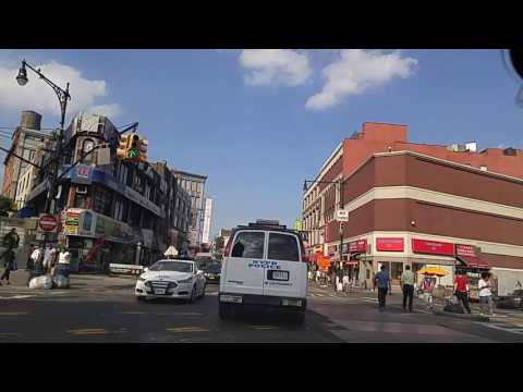Driving from Mott Haven to Morrisania Bronx,New York