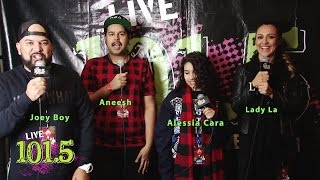 Alessia Cara Jingle Bash Interview - LIVE 101.5