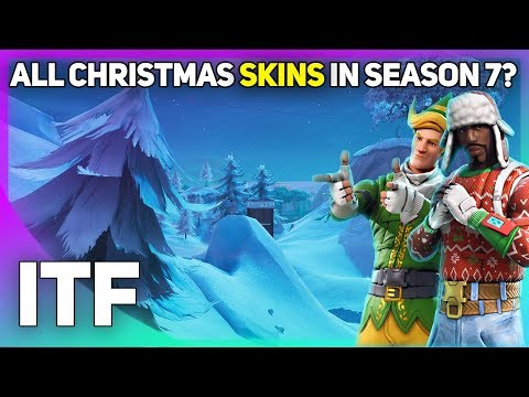All Christmas Skins SHOULD Be Coming Back For Season 7! (Fortnite Battle Royale)