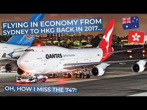 TRIPREPORT | Qantas (ECONOMY) | Boeing 747-400 | Sydney - Hong Kong